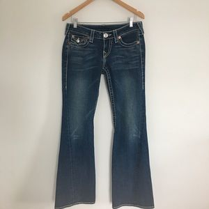 True Religion Rainbow Joey Jeans 29